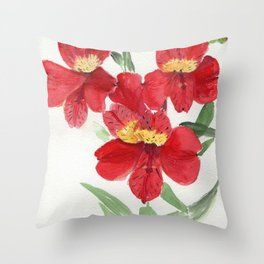 Stretch Marks Throw Pillow