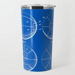 Basketball Patent - Blueprint Travel Mug