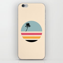 Retro Island iPhone Skin