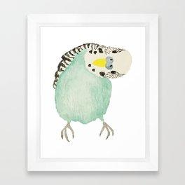 Silly Bird Framed Art Print
