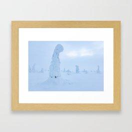Winter wonderland Framed Art Print