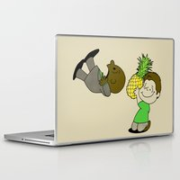 psych Laptop & iPad Skins featuring Psych! by AriesNamarie