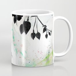Inverted Fuchsia Coffee Mug