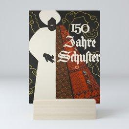 posters 150 jahre schuster arabe Mini Art Print