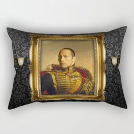 Dwayne (The Rock) Johnson - replaceface Rectangular Pillow