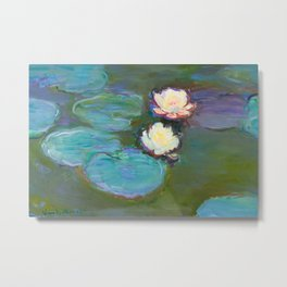 Claude Monet - Nympheas Metal Print