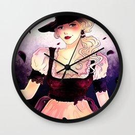 Oktoberfest Lady Wall Clock