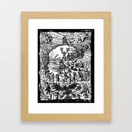 Witches Sabbath Framed Art Print
