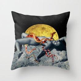 The Venus Priestess Throw Pillow