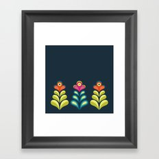 Betty's Garden Framed Art Print
