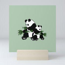 Growing Up Panda Mini Art Print