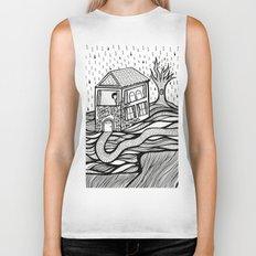 Rainy Day Biker Tank