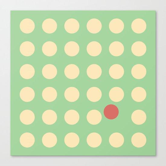 unanimity pattern Canvas Print