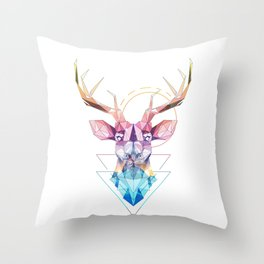 Spirit of the Stag Throw Pillow
