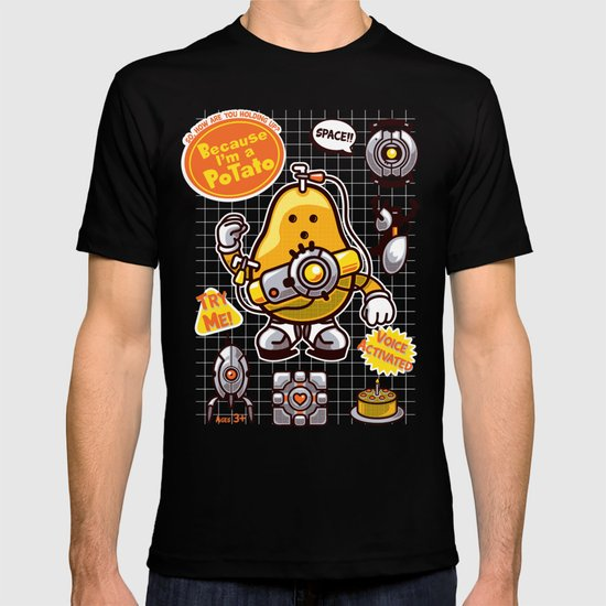 Mrs. Potato GLADos T-shirt