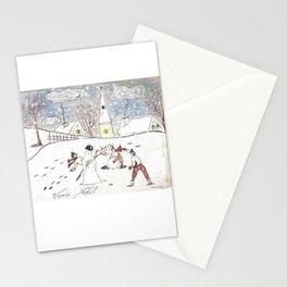 Voici Noël! Stationery Cards