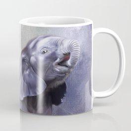 A cute baby elephant Coffee Mug