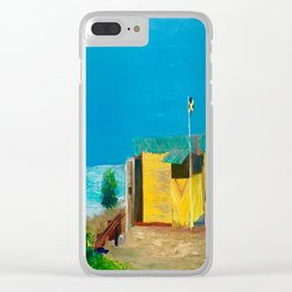 Jamaica. Jamaican Blues Clear iPhone Case