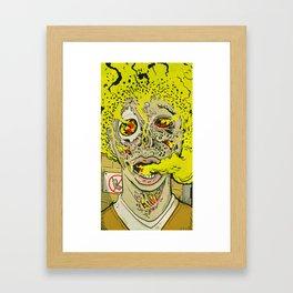 Capital Punishment Framed Art Print