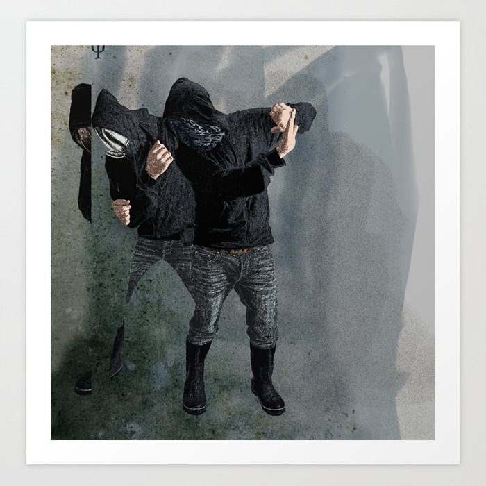 String Theory: Collapsing Wavefunction, Third Tangible Art Print