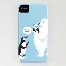 How little Pandas are born iPhone (4, 4s) Slim Case