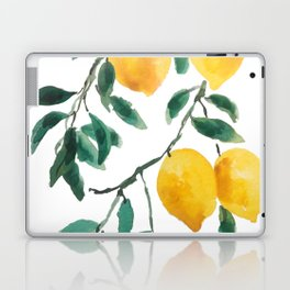 yellow lemon 2018 Laptop & iPad Skin