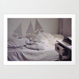 Where Alice Sleeps II Art Print
