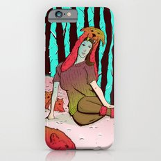 A women's among wolves Slim Case iPhone 6s