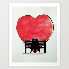 You and Me, Always Art Print