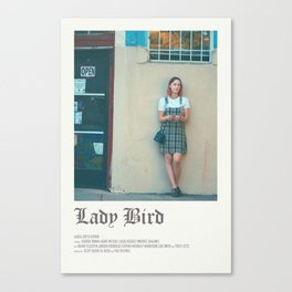Lady bird poster Canvas Print