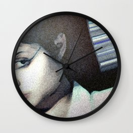 Acid Burn Wall Clock