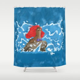 Part of This Rock Shower Curtain