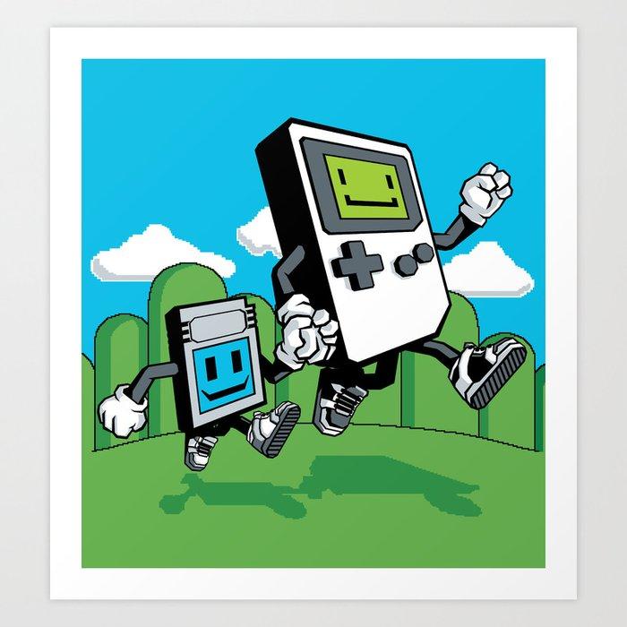 Handheld Art Print