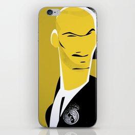 Zizou iPhone Skin