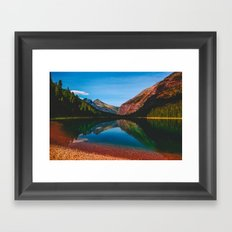 Somewhere in the Rockies Framed Art Print