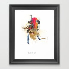 the Above - Minga Framed Art Print