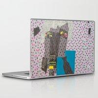 dad Laptop & iPad Skins featuring DAD by NouriHeba