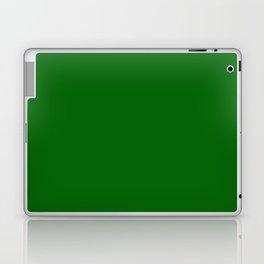 Emerald Green - solid color Laptop & iPad Skin