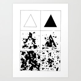Infection/Erosion Art Print