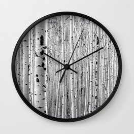 Aspen Tree Maze Wall Clock