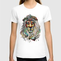 lion king T-shirts featuring Lion by Felicia Atanasiu