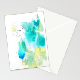 Through the Air Stationery Cards