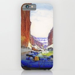Rafting Rest Area iPhone Case