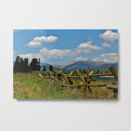 Collegiate Mountain Range Colorado Metal Print