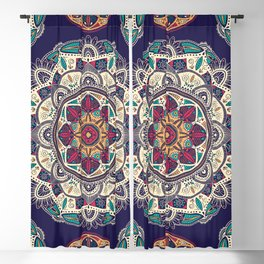 Colorful Mandala Pattern 007 Blackout Curtain