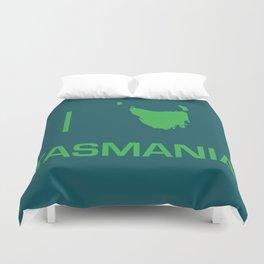 I heart Tasmania Duvet Cover