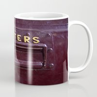 letters Mugs featuring Letters by lenomadecom