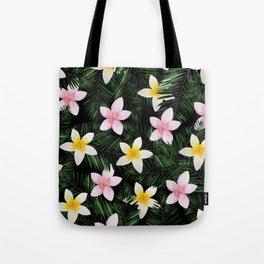 Leave Me Aloha in Black Tote Bag
