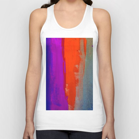 Glowing Lights and Small Things that are Big Unisex Tank Top