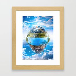Daft Punk Helmet 2 Framed Art Print